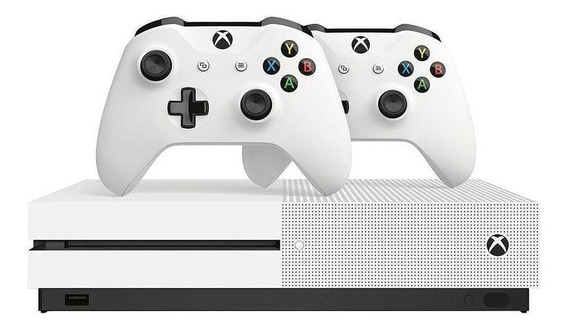 Video Game Xbox One S 4k 1tb + 2 Controles 234-00603