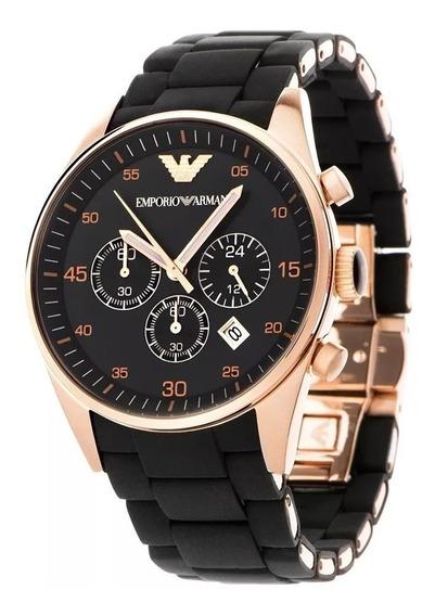 Relógio Emporio Armani Ar5905 Original +garantia 43mm Top