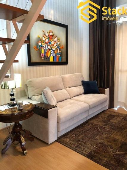 Apartamento Tipo Loft A Venda Em Jundiaí No Condomínio Spazio Vivere Intenso No Bairro Anhangabaú. - Ap01893