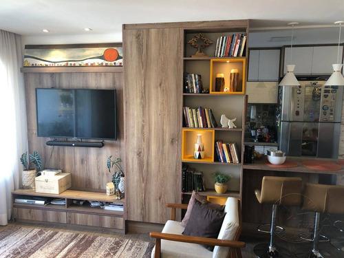 Apartamento À Venda, 120 M² Por R$ 1.350.000,00 - Melville Empresarial Ii - Barueri/sp - Ap1439