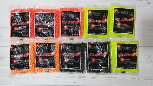 Balines De Airsoft De 6mm Peso 0.12g