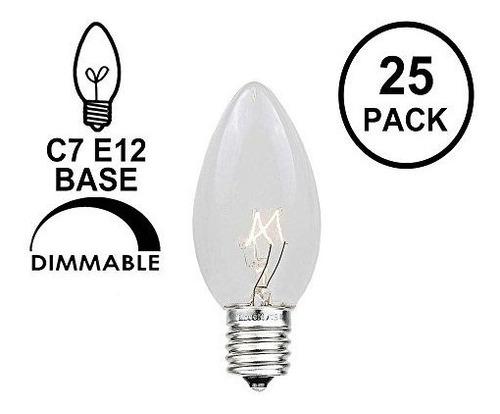 Novelty Lights 25 Pack C7 Outdoor String