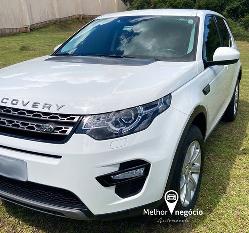 L. R. Discovery Sport Se 2.0 4x4 5l Diesel Aut. 2016 Branca