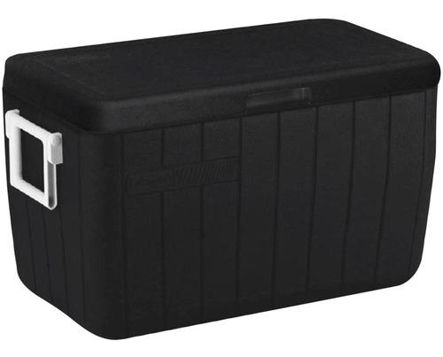 Caixa Térmica Cooler Coleman 48qt 45,4 L Black Preto C/ Alça