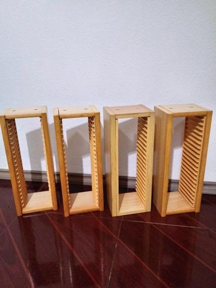 Porta Cds Madeira
