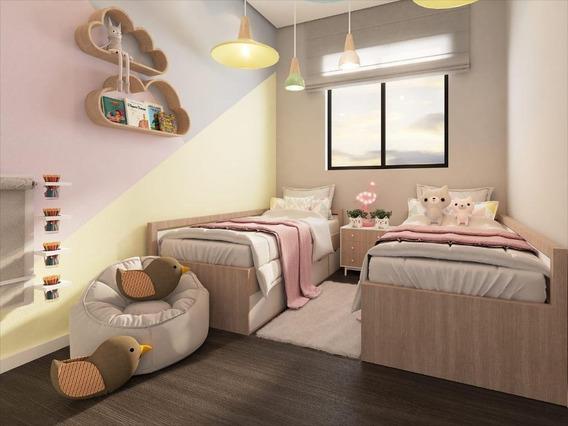Apartamento Em Jardim Ipanema, Almirante Tamandaré/pr De 40m² 2 Quartos À Venda Por R$ 128.000,00 - Ap570458