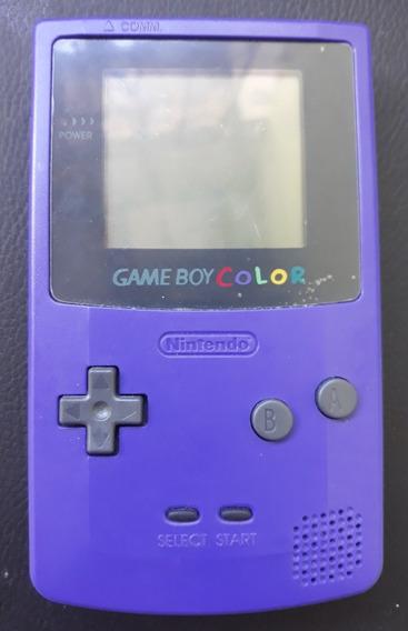 Game Boy Color Tela Iluminada Com 3 Cartuchos