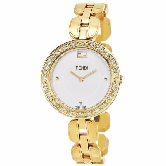 Reloj Fendi Myway Acero Inoxidable Oro Mujer Msi F351434000