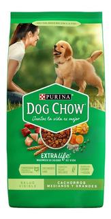 Dog Chow Cachorros Razas Medianas/grandes X 21 Kg.