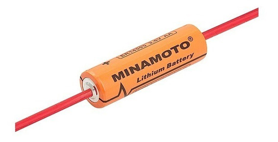 Bateria Er14505 Aa 3,6v 2400mah Lithium Terminal Minamoto