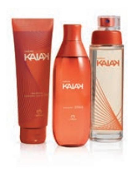 Kit Kaiak Feminino: Colônia + Body Splash + Hidratante