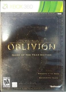 The Elder Scrolls Iv: Oblivion Goty Xbox 360 Infinity Games