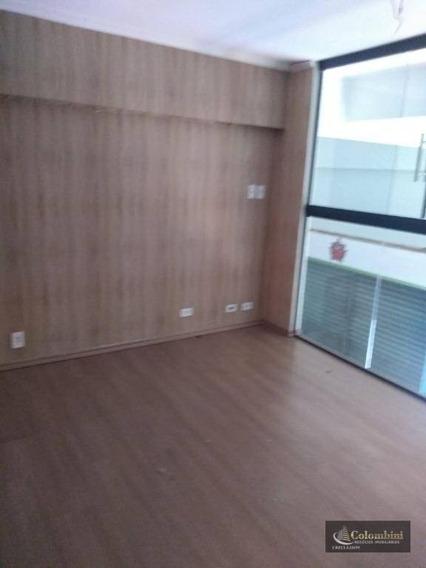 Salão Para Alugar, 120 M² Por R$ 3.300/mês - Barcelona - São Caetano Do Sul/sp - Sl0063