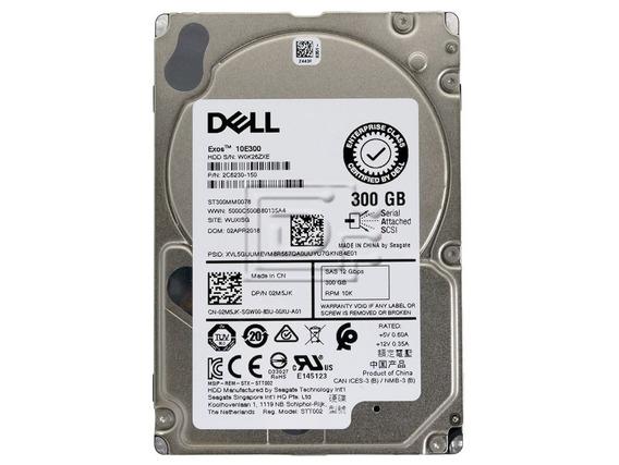 Hd Dell 300gb 10k 2.5 Sas 12gbps St300mm0078 02m5jk