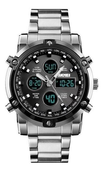 Reloj Para Hombre Skmei 1389 Digital Resistente Al Agua