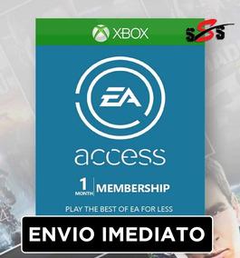Cartão Ea Access Xbox One Assinatura De 1 Mês Serial Key