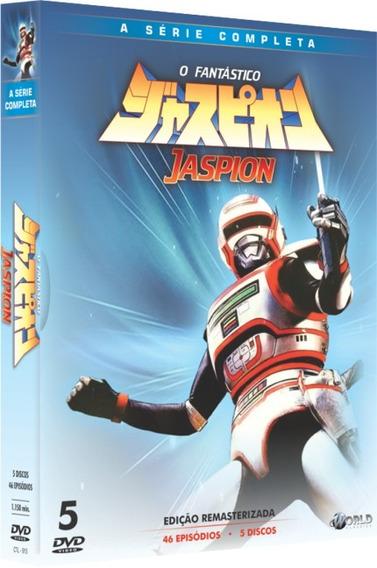 Box Dvd: O Fantástico Jaspion Série Completa - Orig. Lacrado