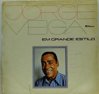 Lp Jorge Veiga - Em Grande Estilio - J201