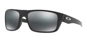 Oculos Sol Oakley Drop Point 9367 0260 Preto Brilho Espelhad