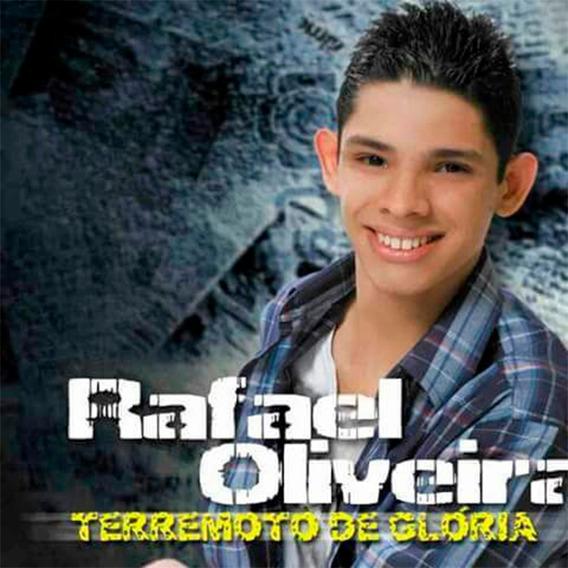 Cd Terremoto De Glória - Rafael Oliveira