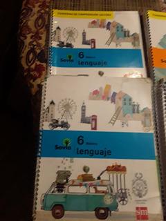 Libros 6 Básico Proyecto Savia Sm