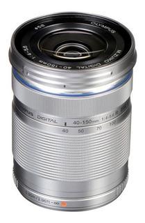 Lente Olympus Ed 40-150mm F/4-5.6 R Plata