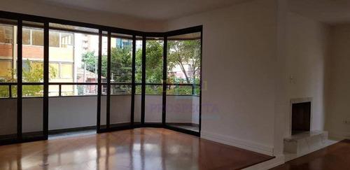 Imagem 1 de 24 de Apartamento Com 4 Dormitórios, 205 M² - Venda Por R$ 3.300.000,00 Ou Aluguel Por R$ 12.700,00/mês - Itaim Bibi - São Paulo/sp - Ap1515