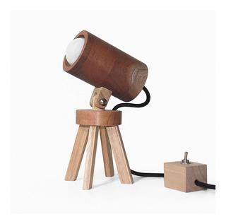 Lámpara Velador Madera Nórdico Sumo Klik - Sbd17 #2026