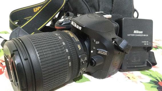 Nikon D5200 + 18-105 Perfeito Estado Apenas 3.880 Clicks