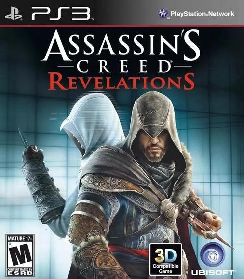 Assassins Creed Revelations + Liberation Psn Ps3 Promoção