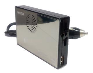 Cargador 12v A 220v 160w Portatil Auto Inversor + Usb