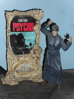 Psycho Norman Bates Movie Maniacs Mcfarlane Original!!!