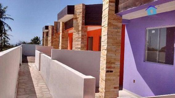 Casa Com 2 Dormitórios - Praia De Carapibus - Ca0327