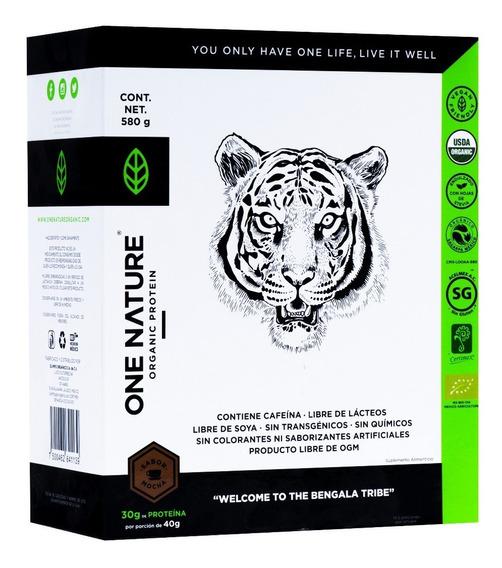 One Nature 580g Proteína Vegana Certificada Polvo
