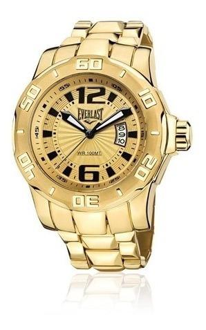 Relógio Analogo Everlast E661 Dourado