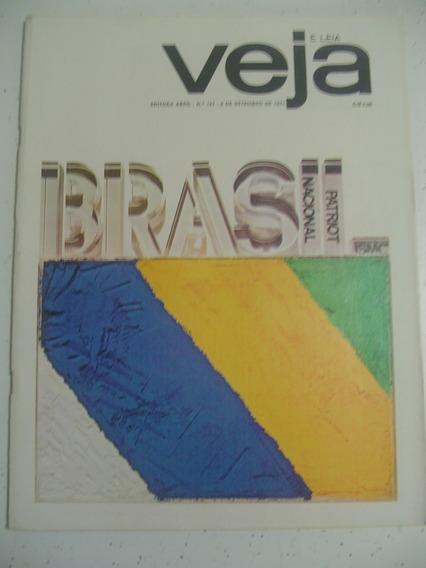Revista Veja 157 Ufanismo Retrato Do Brasil Simon Hair 1971