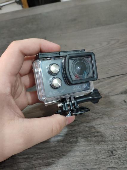 Sjcam Sj7 Star Câmera De Ação 4k! Pouco Usada, Intacta