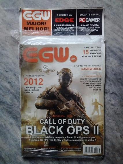 Egw - Nº.134 Call Of Duty Black Ops 2 + Pc Gamer + Edge