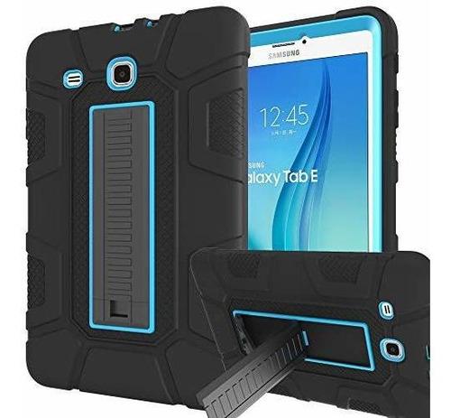 Funda Para Samsung Galaxy Tab E 96 Sanhezhong De Tres Capas