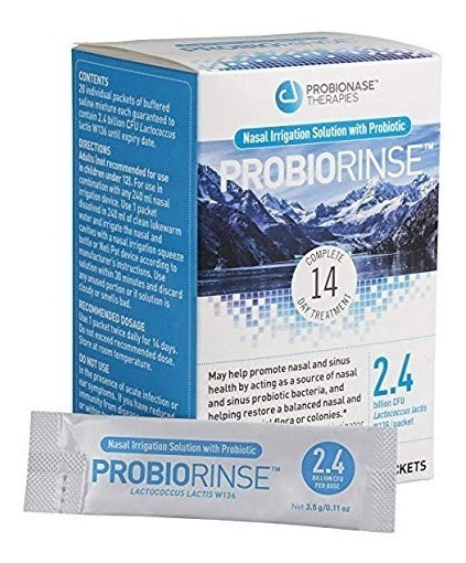 Probiorinse Irrigación Nasal Sinusal Enjuague W / Probiótico