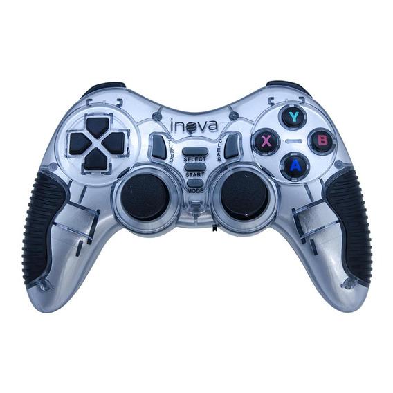 Controle Sem Fio 7 Em 1 Playstation 1, 2 E 3 Prata Inova
