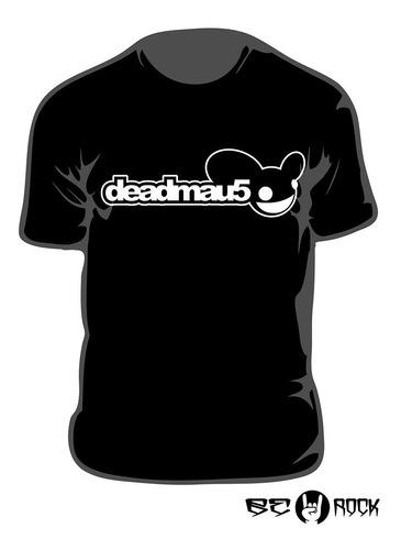 Remera Estampada Deadmau5 Vinilo Importado