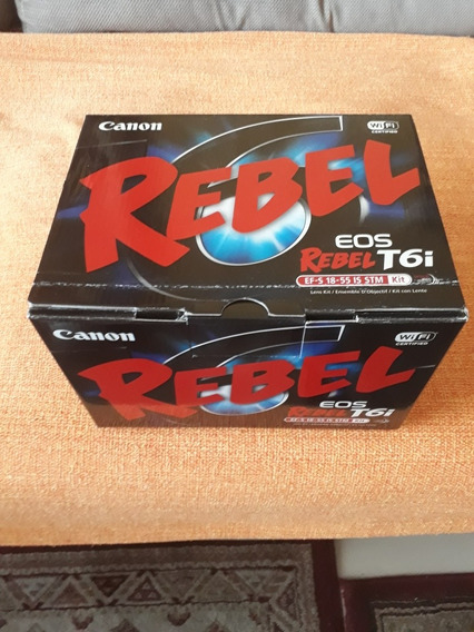 Canon Rebel T6i Dslr