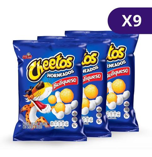 Cheetos® Boliqueso Horneados - 9 Unidades De 110g