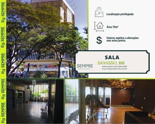 Imagem 1 de 17 de Sala À Venda, 70 M² - Savassi - Belo Horizonte/mg - Sa0086