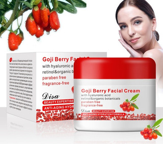Crema De Bayas De Goji Anti Edad Hidratante 100% Original