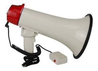 Voyz Megafono Recargable 45 Watts Voz Y Sirena Mic