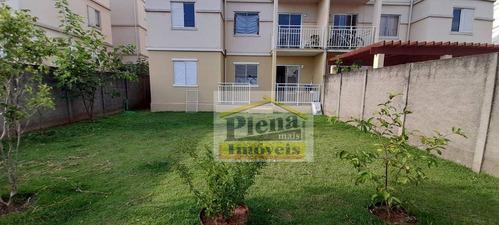 Apartamento Com 2 Dormitórios, 56 M² - Venda Por R$ 350.000,00 Ou Aluguel Por R$ 1.500,00/mês - Parque Euclides Miranda - Sumaré/sp - Ap1333