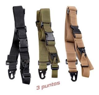 Porta Fusil Sling Correa Tactico Militar Rifle Arma Gotcha