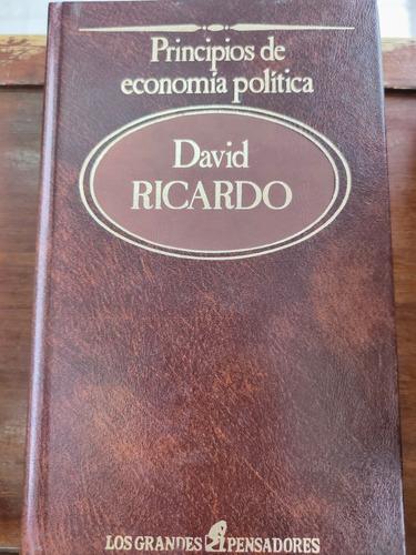 Libro Principios De Economía Y Política Autor David Ricardo